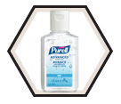 Hand Sanitizer - 59 mL - Flip Cap Bottle / 9650 *Advanced