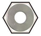 Flat Washers - USS - Low Carbon Steel / Zinc
