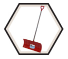 "Poly Snow Pusher - 26"" Blade / NPP26KD *Nordic"
