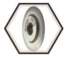 Cutter Wheel - Tubing - Heavy Wall PVC, ABS / 33210 *E-702