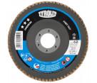 Flap Disc - ALUM/ZIRCONIA - Type 27A Fast Cut