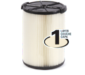 Vacuum Filter - 5-20 gal - 1 Layer / 72947 *VF4000 STANDARD