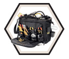 "Tool Bag - 58 Pocket - 18"" - Poly Fabric / SW1539"
