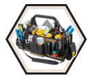 43 Pocket - Electrical & Maintenance Tool Carrier / SW1530