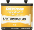 General Purpose Lantern Battery - 6 V Carbon Zinc / 918