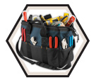 Tool Bag - 22 Pocket - Poly Fabric / SW797