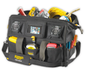 "Stereo Tool Bag - 39 Pocket - 18"" - Poly Fabric / A233"