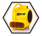 Air Mover - 1000 CFM - Yellow / 10304 *SHOP AIR