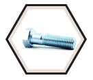 "Hex Head Cap Screw 3/4"" UNC - Grade 5 / Zinc"