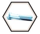 "Hex Head Cap Screw 7/8"" UNC - Grade 5 / Zinc"
