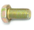 "Hex Head Cap Screw 7/16"" UNC - Grade 8 / Yellow Zinc"