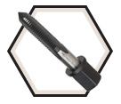 Impact Taps UNC - Hex Drive Shank / High Speed Steel *Fractional