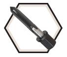 Impact Taps UNC - Hex Drive Shank / High Speed Steel *Fractional