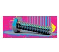 Hex Head Cap Screw M4 Diameter - Metric / Zinc