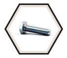 Hex Head Cap Screw M4 Diameter - Metric / Zinc
