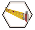 Level - Plate - 6'-10' / 35610 *EXTENDABLE