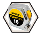 "3/4"" (19mm) x 16' (5m) - PowerLock® Series Tape Measure"