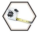 "3/4"" (19mm) x 16' (5m) - P2000 Series Tape Measure"