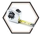 "1"" (25mm) x 26' (8m) P2000 Series Tape Measure"