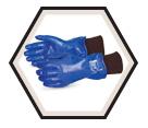 Winter Gloves - Fleece Lined - Nitrile / N230FLK *NORTH SEA™