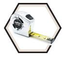 "1"" (25mm) x 33' (10m) - P2000 Series Tape Measure"