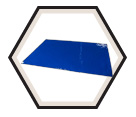Surface Protection - Sticky Mat - Polyethylene - 2 mil / CM2436B4 *CLEAN MAT
