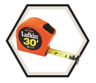 "1"" x 30' - Hi-Viz® 1000 Series Power Tape Measure"