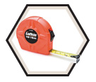 "3/4"" (19mm) x 16' (5m) - Hi-Viz® Power Return Tape Measure"