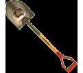 Round Point Shovel - D-Handle - Steel / GFR2D *PRO