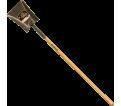 Square Point Shovel - Long Handle - Steel / GFS2L *PRO