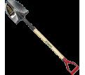 Round Point Shovel - D-Handle - Steel / GHR2FD35S *PRO