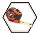 "3/4"" (19mm) x 13' (4m) - Hi-Viz® Tape Measure"