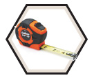 "3/4"" (19mm) x 16' (5m) - Hi-Viz® Tape Measure"
