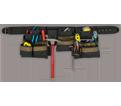 Tool Belt - 17 Pocket - Poly Fabric / AP1605
