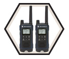 Two-Way Radio - NiMH or 3AA / Talkabout T460