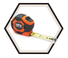 "1"" (25mm) x 26' (8m) - Hi-Viz® Tape Measure"