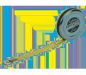 "1/4"" x 6' - Executive® Diameter Pocket Tape Measure"