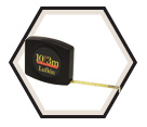"1/4"" (6mm) x 10' (3m) - Pee Wee® Pocket Tape Measure"