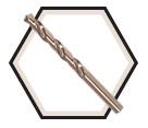 Jobber Drill Bits - 135° - Numerical / 01-B 500 Series *SST+