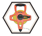 "1/2"" (13mm) x 200' (60m) - Hi-Viz® Tape Measure"