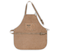 Full Bib Apron - 2 Pocket - Split Leather / AP601