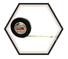 "3/8"" (10mm) x 100' (30m) - Banner® Tape Measure"