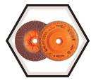 Flap Disc - Zirconium Grain / Type 27S *Trimmable