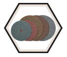 "Surface Conditioning Discs - Non-Woven - 5"" Dia. / Blendex™"
