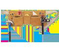 Tool Belt - 11 Pocket - Full Grain Leather / AP630