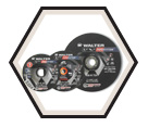 "Cutting Wheel - Aluminum Oxide - 3/32"" Thick / Type 27 *PIPEFITTER™"