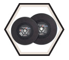 Cut-Off Wheels - Aluminum Oxide / Type 1 *RIPCUT II™
