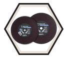 Cut-Off Wheels - Aluminum Oxide / Type 1 *RIPCUT™