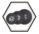 "Cut-Off Wheels - Aluminum Oxide - 3/32"" Thick / Type 1 *CHOPCUT™"