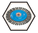 """Wire Wheel Brushes - 0.020"""" Stringer Bead Wire *For Aluminum & Stainless"""